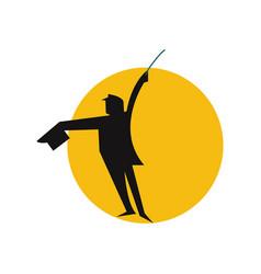 magic logo icon design vector image