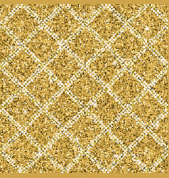 seamless yellow gold glitter texture with silver vector image