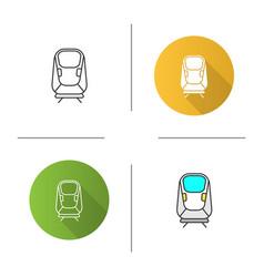transrapid icon vector image