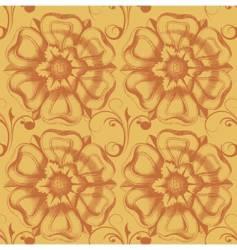 victorian wallpaper vector image vector image