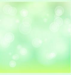 Light green background bokeh background vector
