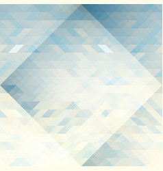 triangles abstract geometry pattern vector image vector image