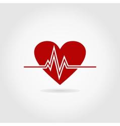 Heart life2 vector image vector image
