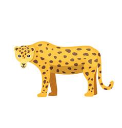 Jaguar cat panther cartoon vector