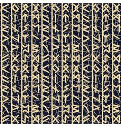 rune seamles background in grey vector image