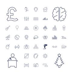 37 creative icons vector