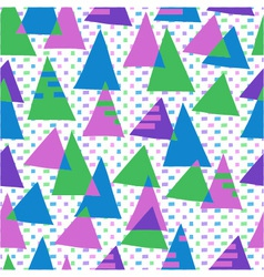 abstract background with color figures vector image