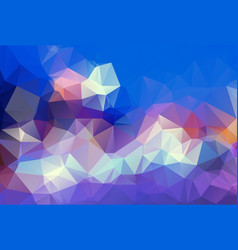 abstract polygonal template modern geometrical vector image