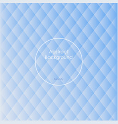 gradient white and blue colored rhombus vector image
