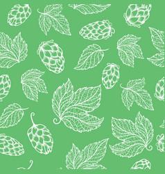 hops pattern vector image