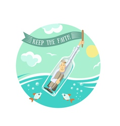 Keep faith vector