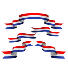 netherlands insignia vector image