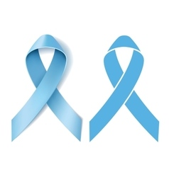 Prostate cancer ribbon awareness vector