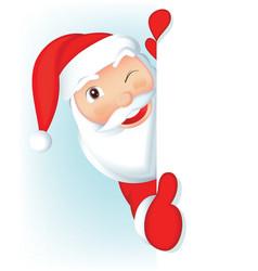 Santa claus - blank vector