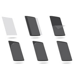 Screen protector tablet computer vector