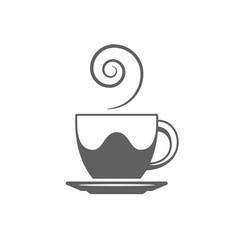Coffee or tea cup coffee cup vector