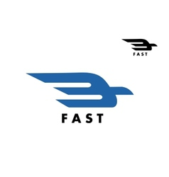 Fast delivery or ail mail icon vector image vector image
