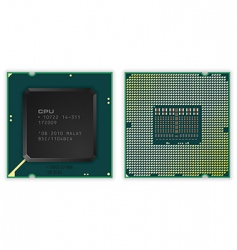 modern processor vector image vector image