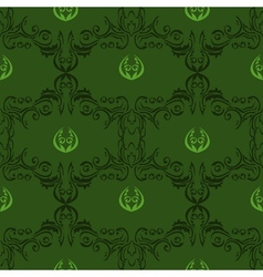 seamless floral pattern 01 vector image vector image