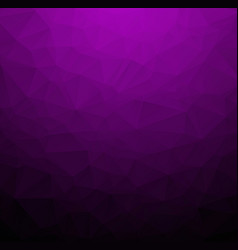 abstract dark purple polygonal which consist of vector image