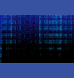 blue binary code texture vector image