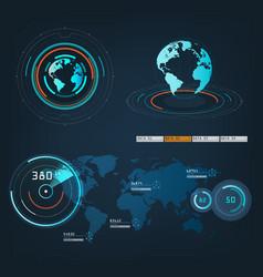 Future sight action mode earth interface vector