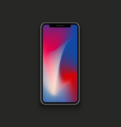 modern new concept smartphone vector image