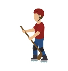 rock-climber man design vector image