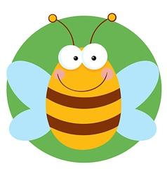 Bee Cartoon Character vector image vector image