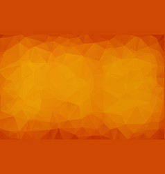 abstract dark orange polygonal which consist of vector image