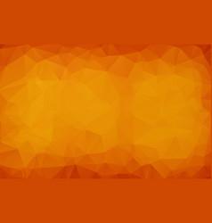 abstract dark orange polygonal which consist of vector image