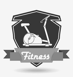 Fitness club design vector
