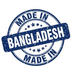 made in bangladesh vector image