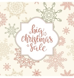 Merry Christmas sale background art vector
