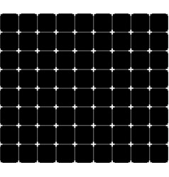 Repeatable monochrome grid mesh with crosses at vector
