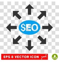 Seo Distribution Icon vector