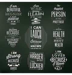 Set Of Vintage Typographic Backgrounds vector