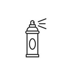 spray can icon vector image