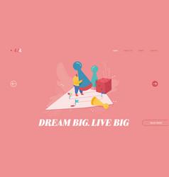 winning businessman for web design vector image