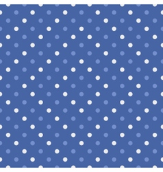 Polka dot seamless wallpaper or background vector