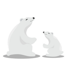 international polar bear day poster vector image