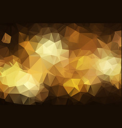abstract dark gold polygonal which consist of vector image
