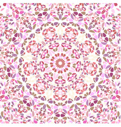 Abstract psychedelic dynamic gravel ornament vector