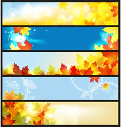 Autumn days vector