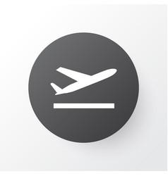 Departure icon symbol premium quality isolated vector