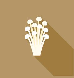 Needle mushroom vector