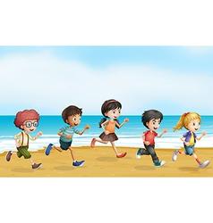 Running children vector