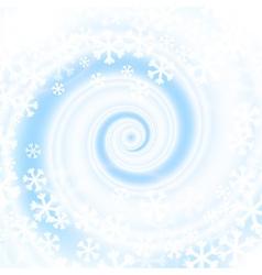 Snow blizzard swirl vector