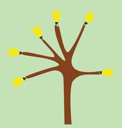 tree idea vector image