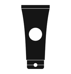 Tube of lubricant gel icon simple style vector image vector image